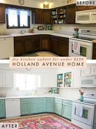Design Notes Kitchen Makeover On Diy White Painted Kitchen Cabinets Reveal Kitchens Kitchen