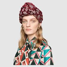 velvet headband gg velvet headband gucci 5024093g0845874