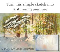 how to paint with watercolors beginner watercolor tutorial