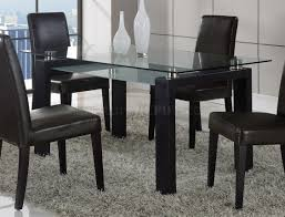 global furniture dining room sets dining set 5pc in black by global w dg020dc brown chairs