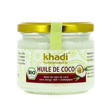 huile de noix de coco cuisine beurre de coco khadi