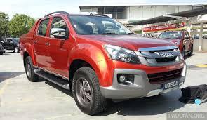 nissan safari pick up isuzu d max v cross 3 0l introduced rm101k 118k