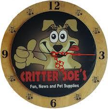 personalized picture clocks custom personalized clocks critter joe s