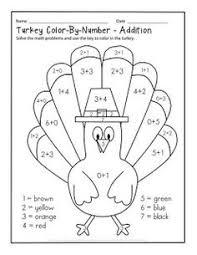 thanksgiving multiplication math coloring pages math for