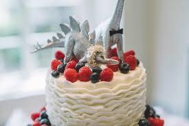 dinosaur wedding cake topper dinosaur themed garden party wedding