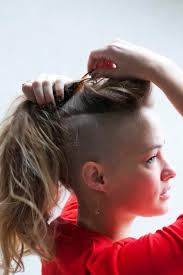 hair styles with both of sides shaved 1000 images about haircut shaved undercuts women on pinterest