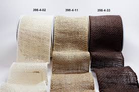 4 inch ribbon 4 inch burlap wired ribbon may arts wholesale ribbon