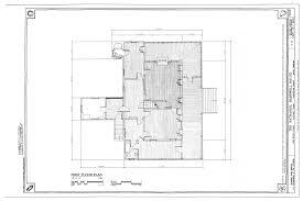 Charleston Floor Plan File First Floor Plan Nathaniel Barnwell House 1023 Middle