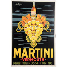 martini rosso vermouth 799 99 original vintage italian poster advertising martini