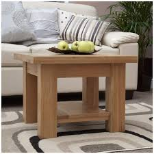 Small Coffee Table Enchanting Mardale Solid Oak Furniture Small Square Coffee Table