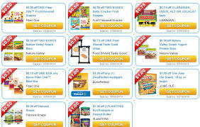 food coupons lots of new snack food coupons fiber one larabar nature valley