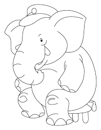 elephant coloring download free elephant coloring