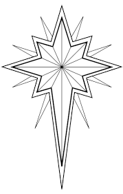 religious christmas bible coloring pages within star of bethlehem