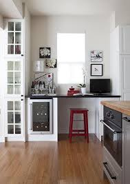 Kitchen Office Design Ideas Not Sure I U0027d Get Anything Done With My Desk Next To The Wine Bar