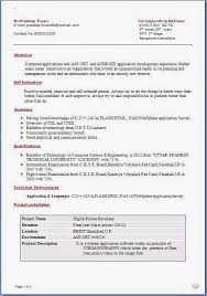 cv format for b tech freshers pdf to excel afkorting curriculum vitae sle template exle ofexcellent