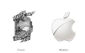 40 examples of classic branding next to the modern version u2013 learn