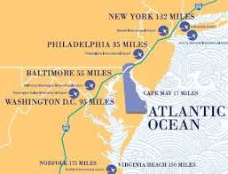 map of maryland delaware and new jersey maps and transportation delaware sports commission