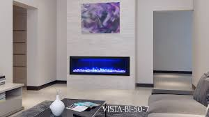 Built In Electric Fireplace Vista Bi 50 7 Electric Fireplace Sierra Flame