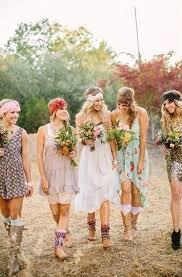 mariage boheme chic tenue hippie chic pour mariage espace perle