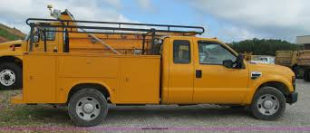 2008 Ford F350 Utility Truck - 2008 ford f350 supercab utility truck item j8514 sold j