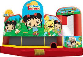 ni hao kai lan 5 1 combo bay bay jumpers bounce house