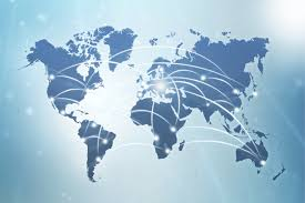 World Cloud Map by World Map Global Communications Business Global Trade Review Gtr