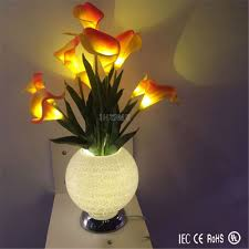 Vase Lights Wholesale Led Rgb Stocking Flower Light With Different Beautiful Vase For