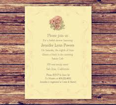 vintage bridal shower invitations the most popular bridal shower invitations at