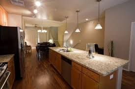 what is the best lighting for a galley kitchen galley kitchens pros cons and tips