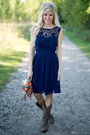 country western bridesmaid dresses