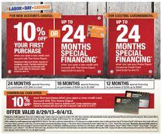 home depot finance deals black friday the home depot is offering a special financing promotion for new