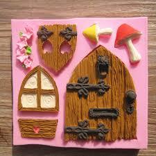 home decorating tools cartoon house design diy 3d silicone cake mold fondant chocolate