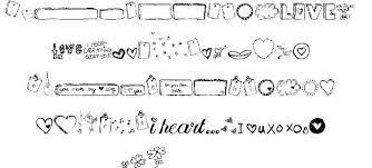 mtf i heart sketches font by mtf fontriver
