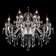 Chandelier Strands Fashion Style Chandeliers Large 31 In Wide Crystal Lights