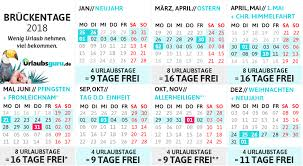Kalender 2018 Hamburg Feiertage Brückentage 2018 Wie Ihr Bis Zu 86 Tage Urlaub Macht
