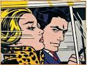Roy Lichtenstein, In The Car,