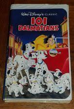 101 dalmatians walt disney classic vhs tape 1263 ebay