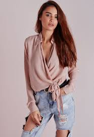 wrap shirts blouses work this fanciful beaut this season in this chiffon blouse