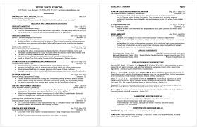 Examples Of A Resume For A Job by How To Write A Curriculum Vitae Pomona College In Claremont