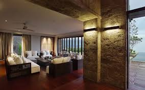Villa Interior by The Bulgari Villa A Balinese Cliff Top Paradise Idesignarch