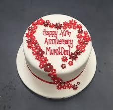 anniversary cake anniversary cakes