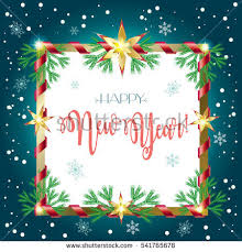 happy new years greeting cards 2017 vector merry christmas happy new stock vector 541765969