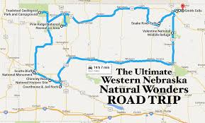 Nebraska On A Map The Ultimate Western Nebraska Natural Wonders Road Trip
