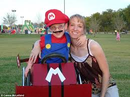 Bob Builder Halloween Costume Texas Mother Creates Halloween Wheelchair Costumes Disabled