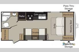 Keystone Rv Floor Plans New 2018 Keystone Rv Passport 195rb Express Travel Trailer At Big