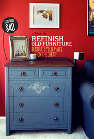 how to refinish a desk how to refinish old furniture decorate your place on the cheap primer