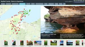 Wisconsin Public Land Map by Land Records Bayfield County Wi Official Website