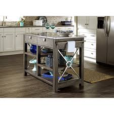 Stainless Top Kitchen Island by Here Comes Temptation