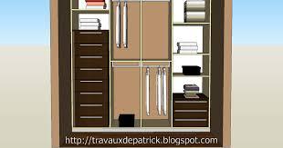 comment faire un placard dans une chambre comment faire des etageres dans un placard 6 dressing dans une