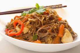comment cuisiner au wok bienvenue chez spicy wok de légumes et nouilles soba sautées